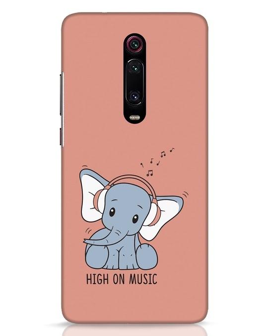 Shop Music Elephant Xiaomi Redmi K20 Mobile Cover-Front