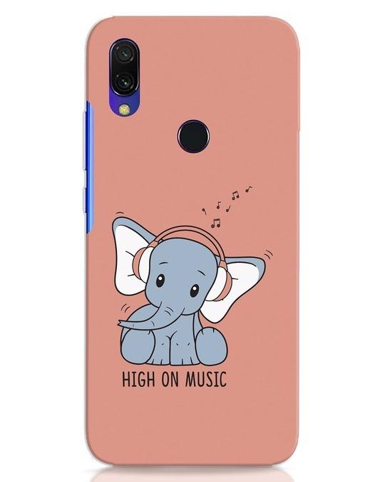 Shop Music Elephant Xiaomi Redmi Y3 Mobile Cover-Front