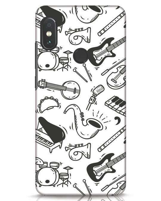 Shop Music Instruments Xiaomi Redmi Note 5 Pro Mobile Cover-Front