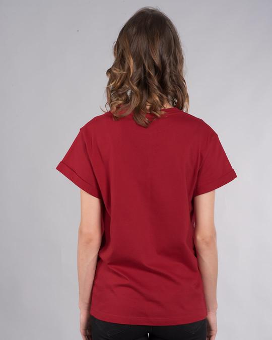 Shop Music Lover - Headphones Boyfriend T-Shirt-Back