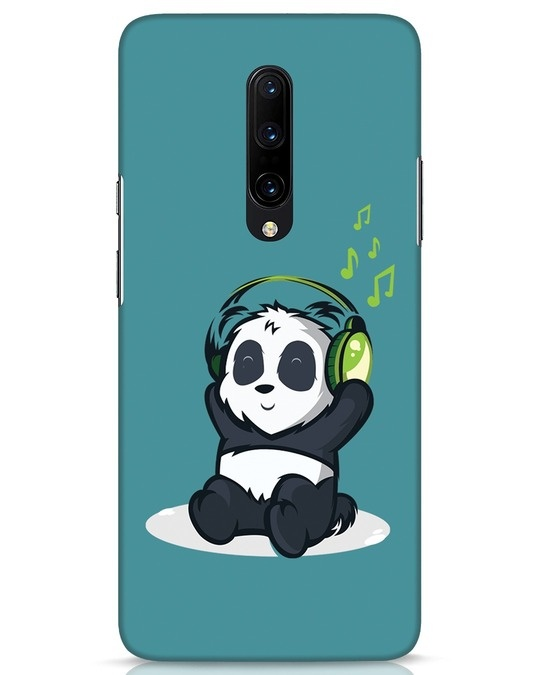 Shop Music Panda OnePlus 7 Pro Mobile Cover-Front