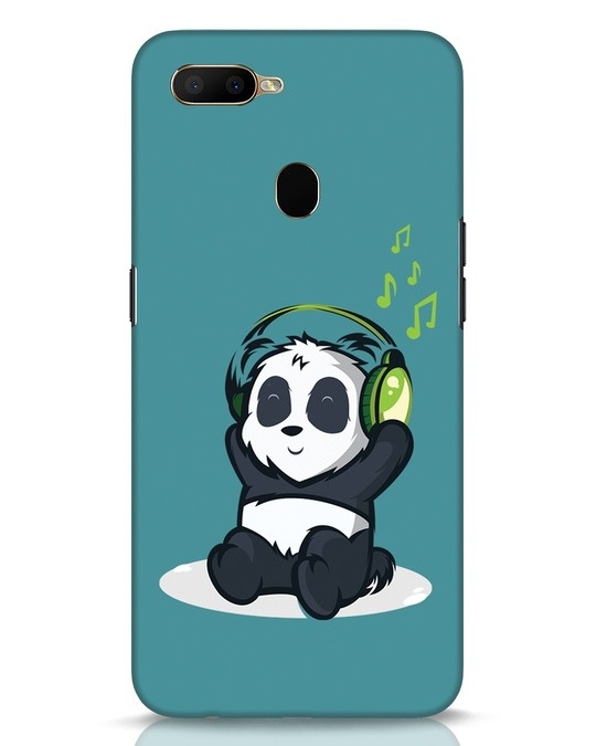 Shop Music Panda Oppo A5s Mobile Cover-Front