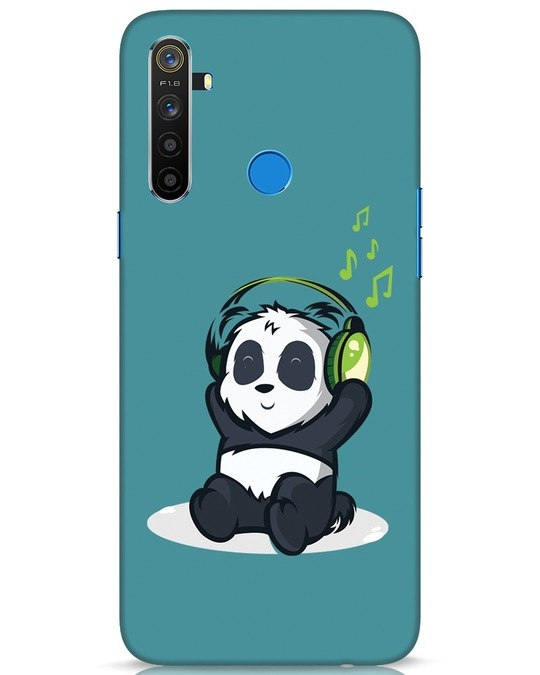 Shop Music Panda Realme 5 Mobile Cover-Front
