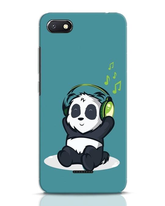 Shop Music Panda Xiaomi Redmi 6A Mobile Cover-Front