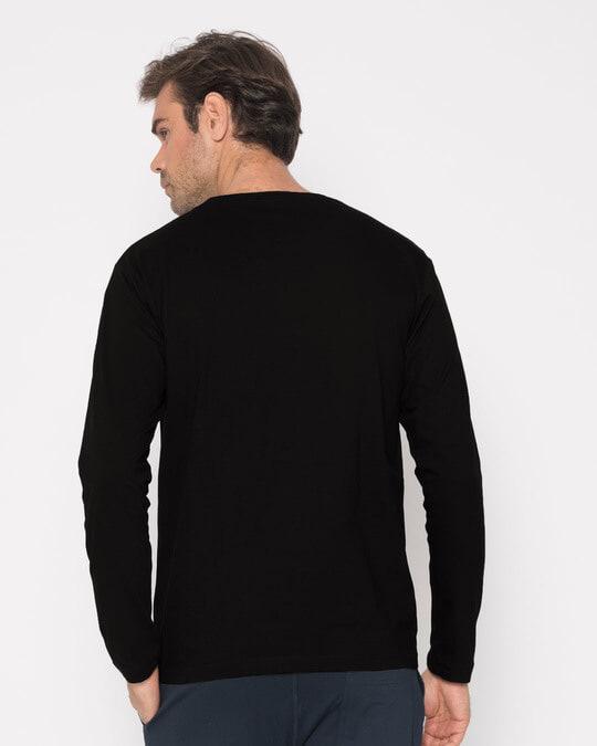 Shop Music Smoke Full Sleeve T-Shirt-Design