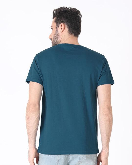 Shop Music Smoke Half Sleeve T-Shirt-Full