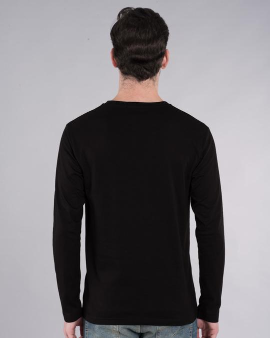Shop Music Thunder Bolt Full Sleeve T-Shirt-Back