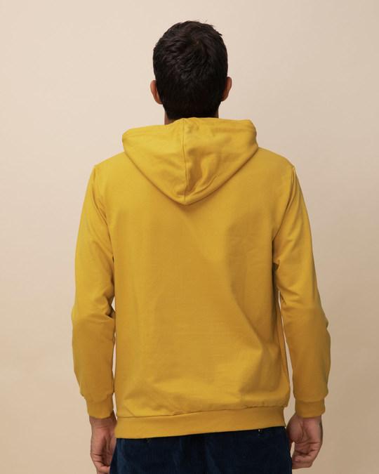 Shop Mustard Yellow Fleece Hoodies-Design
