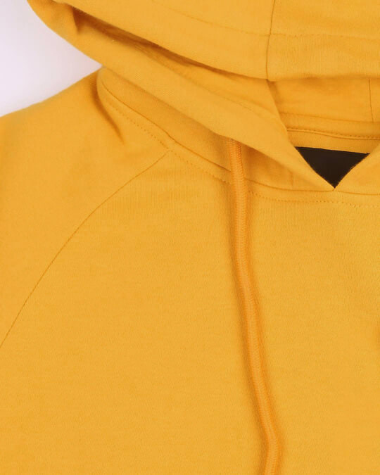 Shop Mustard Yellow Hoodie Sweatshirt