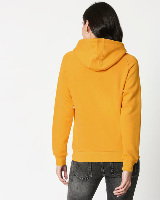 Shop Mustard Yellow Hoodie Sweatshirt-Design