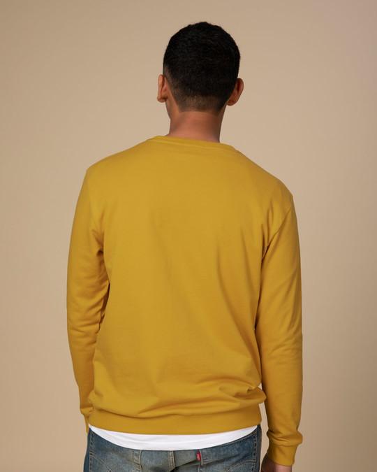 Shop Mustard Yellow Sweatshirt-Full