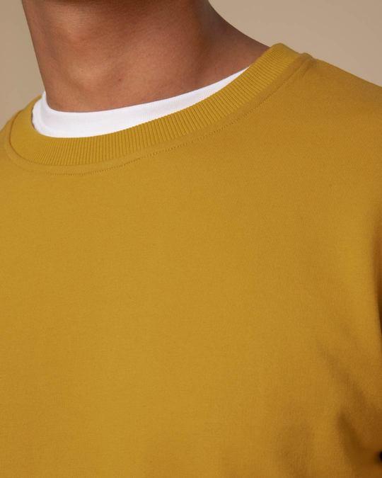 Shop Mustard Yellow Sweatshirt