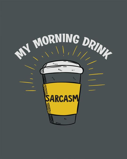Shop My Morning Drink Boyfriend T-Shirt