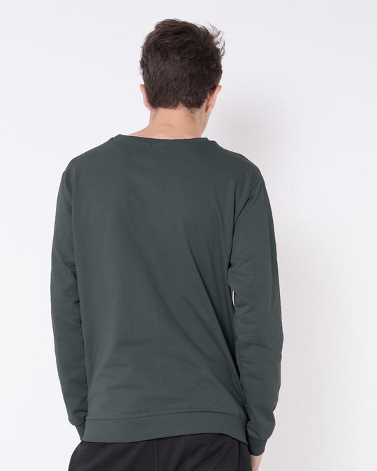 Shop My Morning Drink Fleece Light Sweatshirt-Back