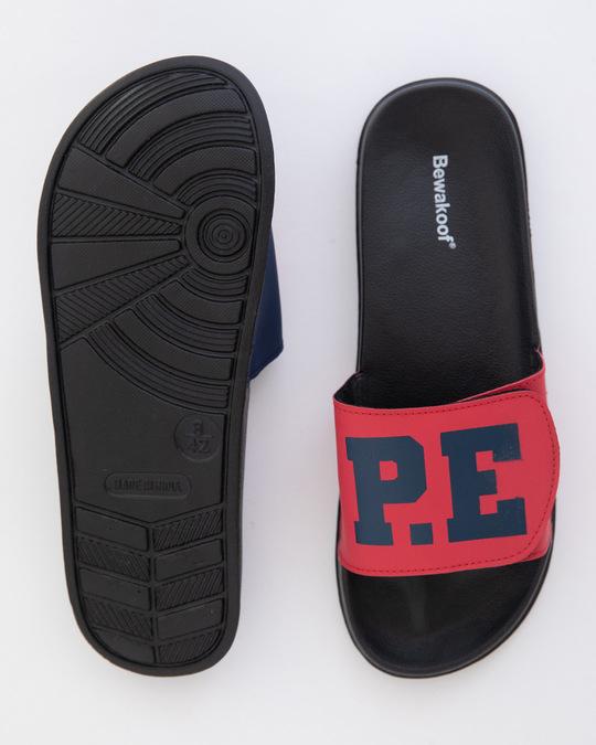 Shop N.O.P.E Lightweight Adjustable Strap Women Slider-Full