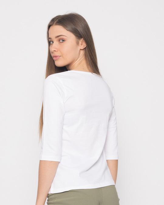 Shop Na Dard Round Neck 3/4th Sleeve T-Shirt-Full