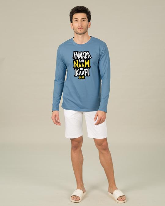 Shop Naam Hi Kaafi Hai Full Sleeve T-Shirt-Full