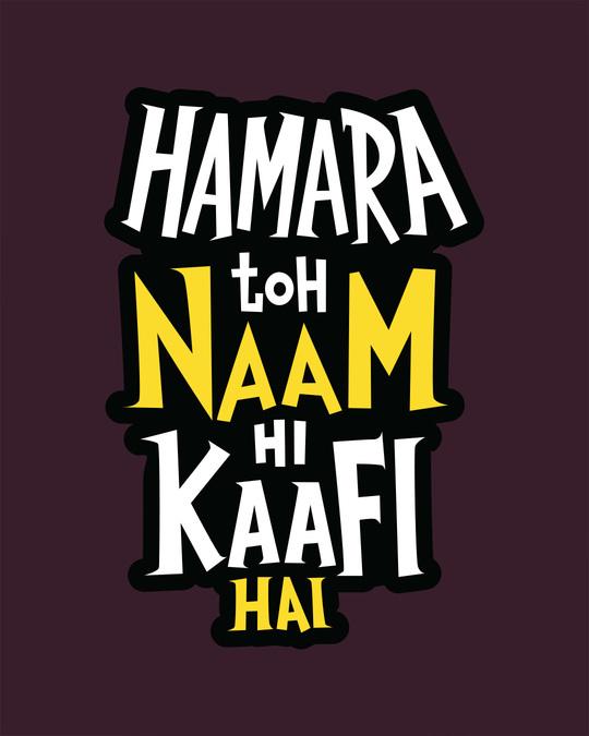 Shop Naam Hi Kaafi Hai Full Sleeve T-Shirt