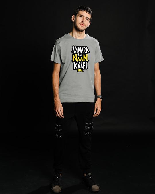 Shop Naam Hi Kaafi Hai Half Sleeve T-Shirt