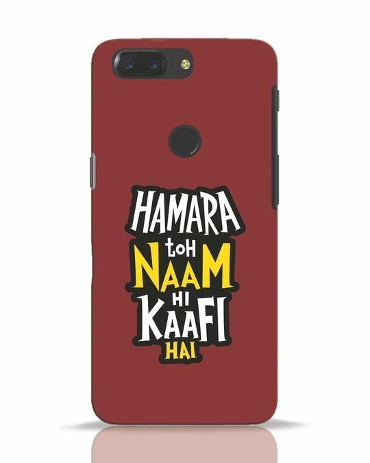 Shop Naam Hi Kaafi Hai OnePlus 5T Mobile Cover-Front