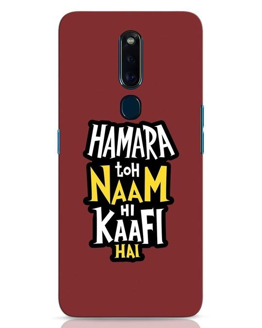 Shop Naam Hi Kaafi Hai Oppo F11 Pro Mobile Cover-Front