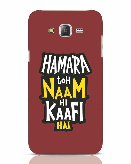 Shop Naam Hi Kaafi Hai Samsung Galaxy J7 Mobile Cover-Front