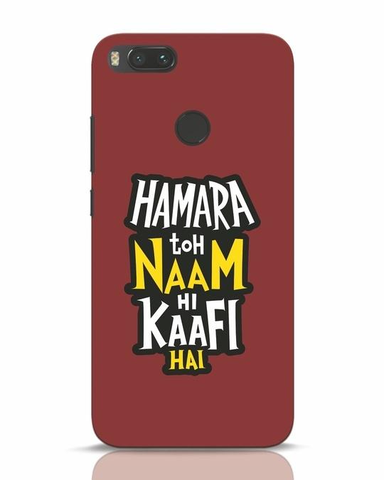 Shop Naam Hi Kaafi Hai Xiaomi Mi A1 Mobile Cover-Front