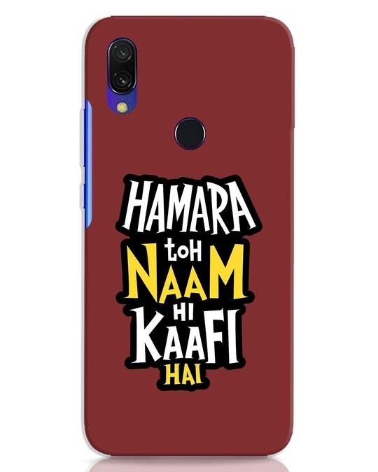 Shop Naam Hi Kaafi Hai Xiaomi Redmi 7 Mobile Cover-Front