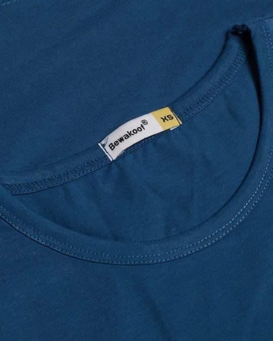 Shop Nahi Sudhrenge Round Neck 3/4th Sleeve T-Shirt