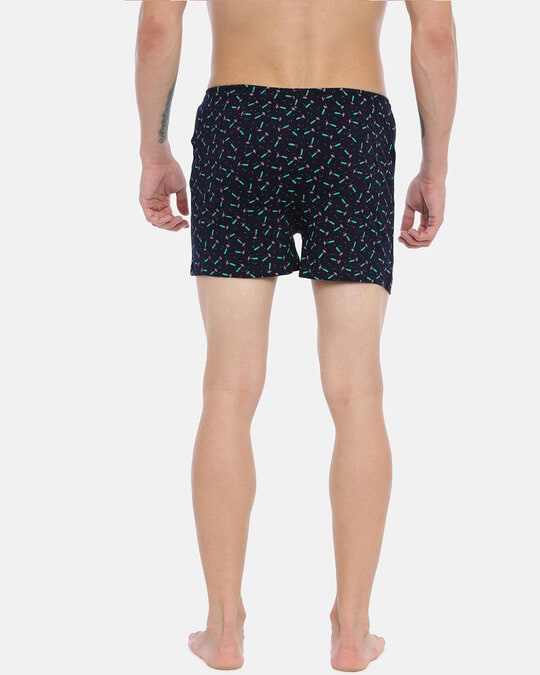 Shop Joven | Nails N Hammers Black Knitted Boxers-Full