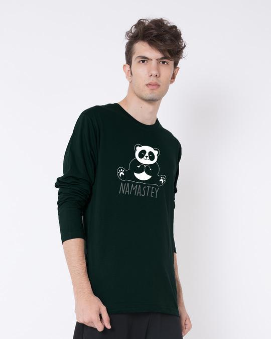 Shop Namastey Full Sleeve T-Shirt-Back