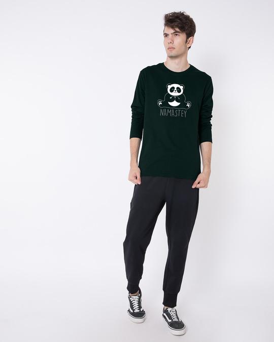 Shop Namastey Full Sleeve T-Shirt-Full