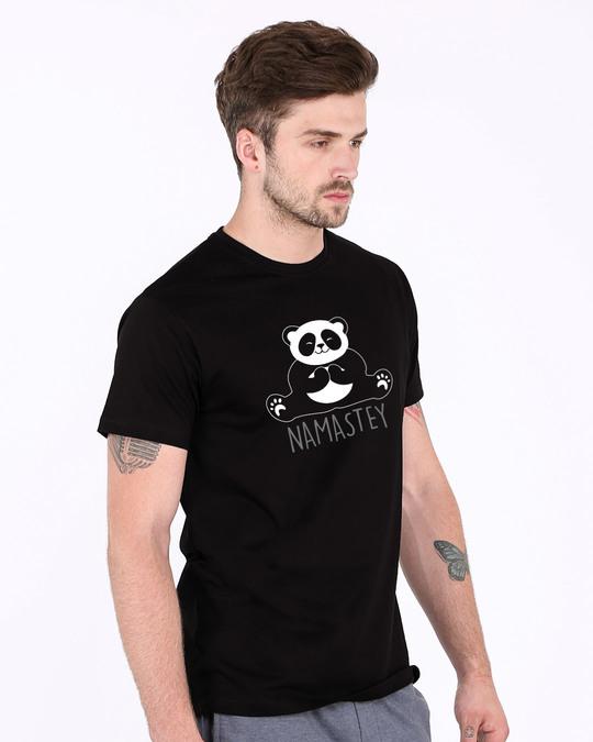 Shop Namastey Half Sleeve T-Shirt-Full