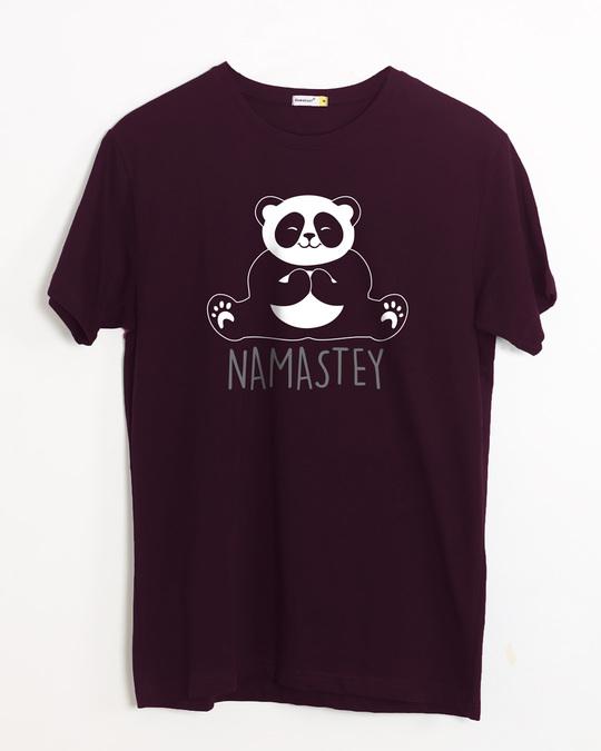 Shop Namastey Half Sleeve T-Shirt-Front