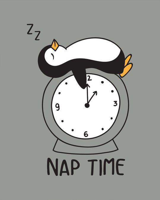 Shop Nap Penguin Boyfriend T-Shirt