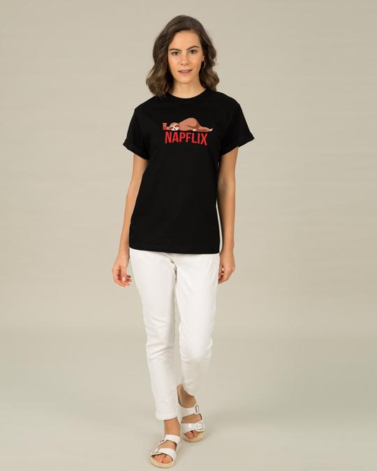 Shop Napflix Boyfriend T-Shirt-Design