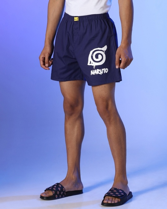 Shop Naruto Men's Boxers-Back