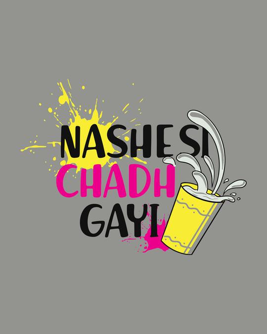 Shop Nashe Si Chadh Gayi Half Sleeve T-Shirt-Full