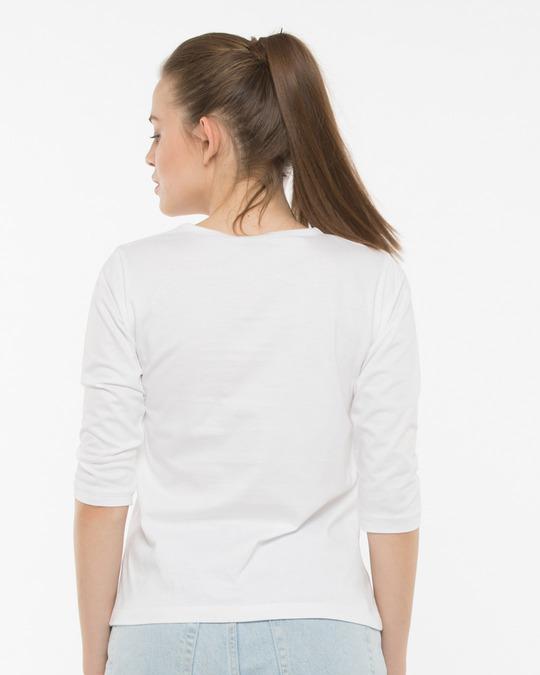Shop Nashe Si Chadh Gayi Round Neck 3/4th Sleeve T-Shirt-Back