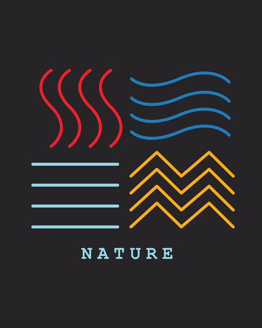 Shop Nature Elements Boyfriend T-Shirt-Full