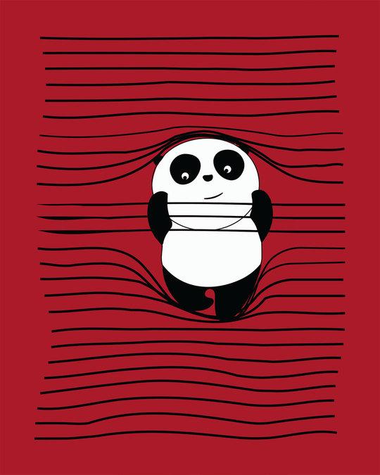 Shop Naughty Panda Boyfriend T-Shirt