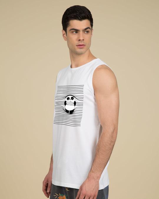 Shop Naughty Panda Vest-Back