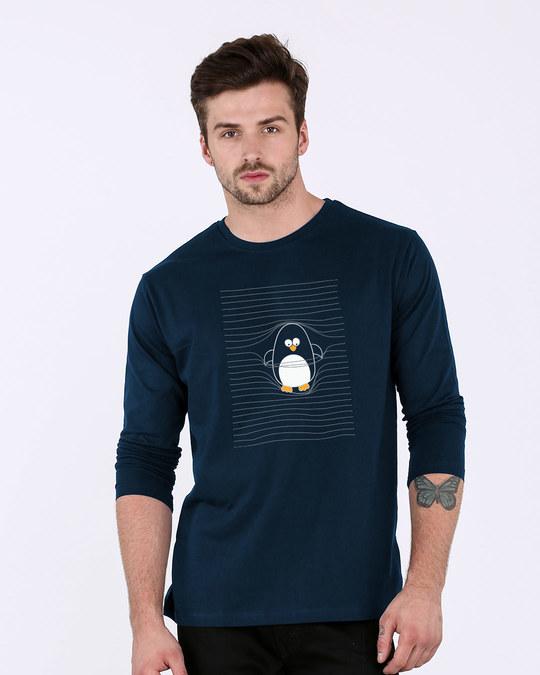 Shop Naughty Penguin Full Sleeve T-Shirt-Front