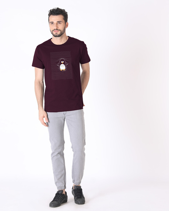 Shop Naughty Penguin Half Sleeve T-Shirt