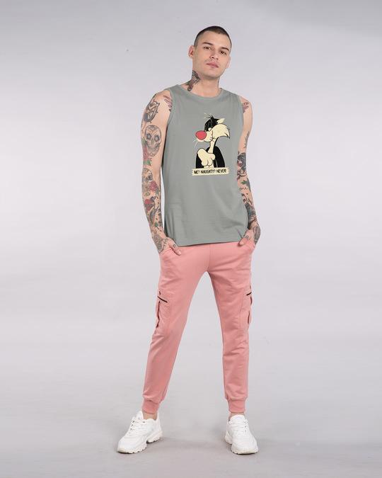 Shop Naughty Sylvester Vest (LTL)-Full