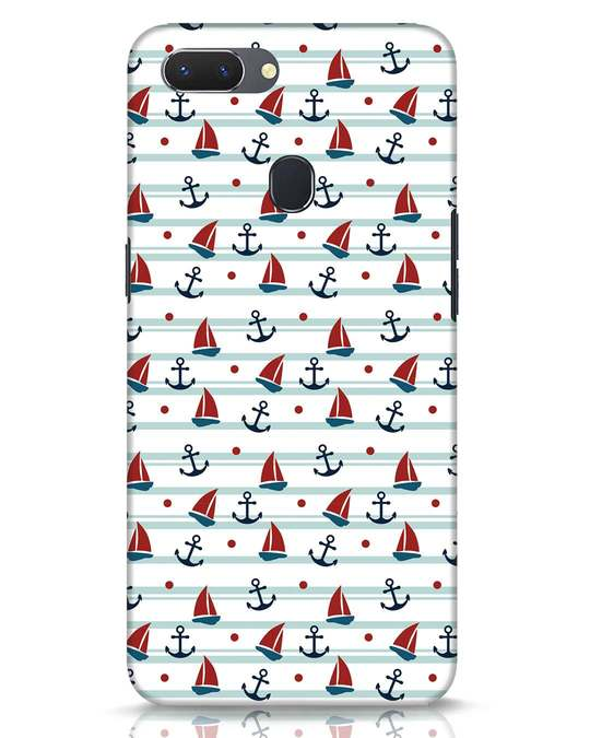 Shop Nautical Pattern Realme 2 Mobile Cover-Front