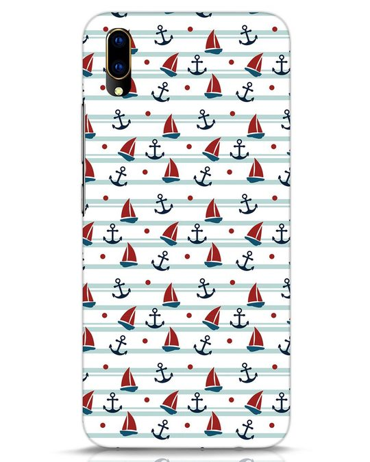 Shop Nautical Pattern Vivo V11 Pro Mobile Cover-Front