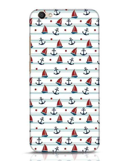Shop Nautical Pattern Vivo V5 Mobile Cover-Front
