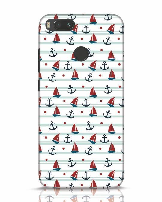 Shop Nautical Pattern Xiaomi Mi A1 Mobile Cover-Front