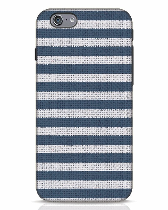 Shop Nautical Stripes iPhone 6 Mobile Cover-Front